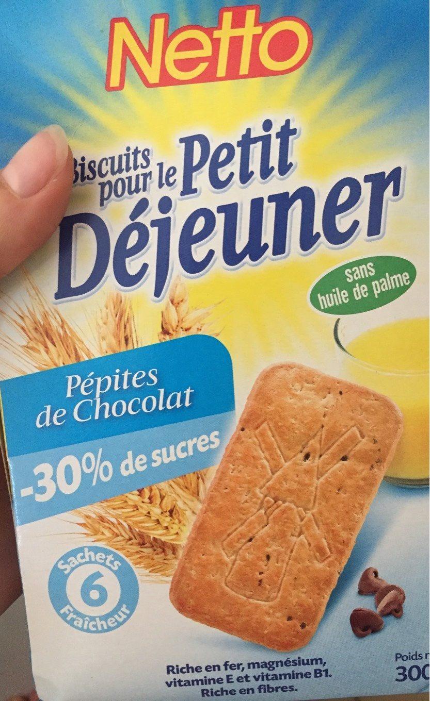 Biscuits petit déjeuner -30% de sucre - Product - fr