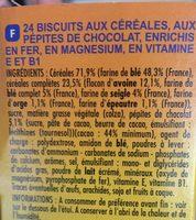 Petit déj matin gourmand -30% de sucre - Ingrédients - fr