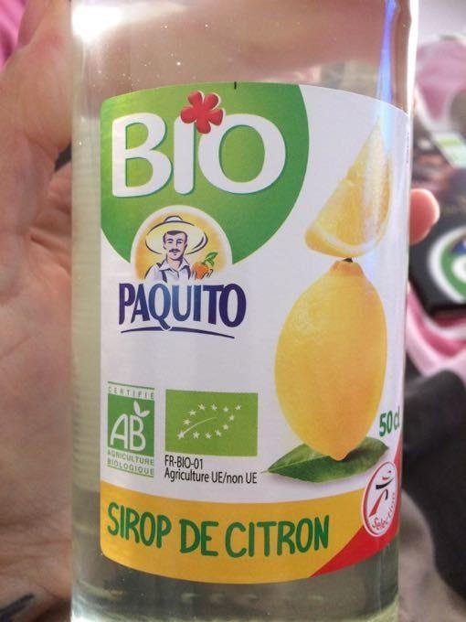 Sirop De Citron - Product