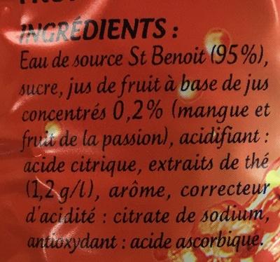 Iced Tea saveur Tropical - Ingrédients - fr