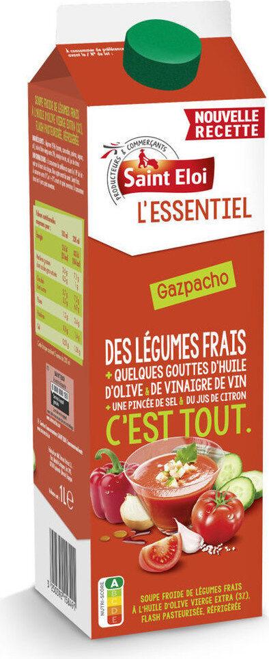 L'essentiel - gazpacho légumes du soleil - Prodotto - fr