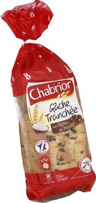 Gâche tranchée aux pépites de chocolat - Product - fr