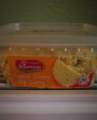 Poulet curry - Produkt - fr