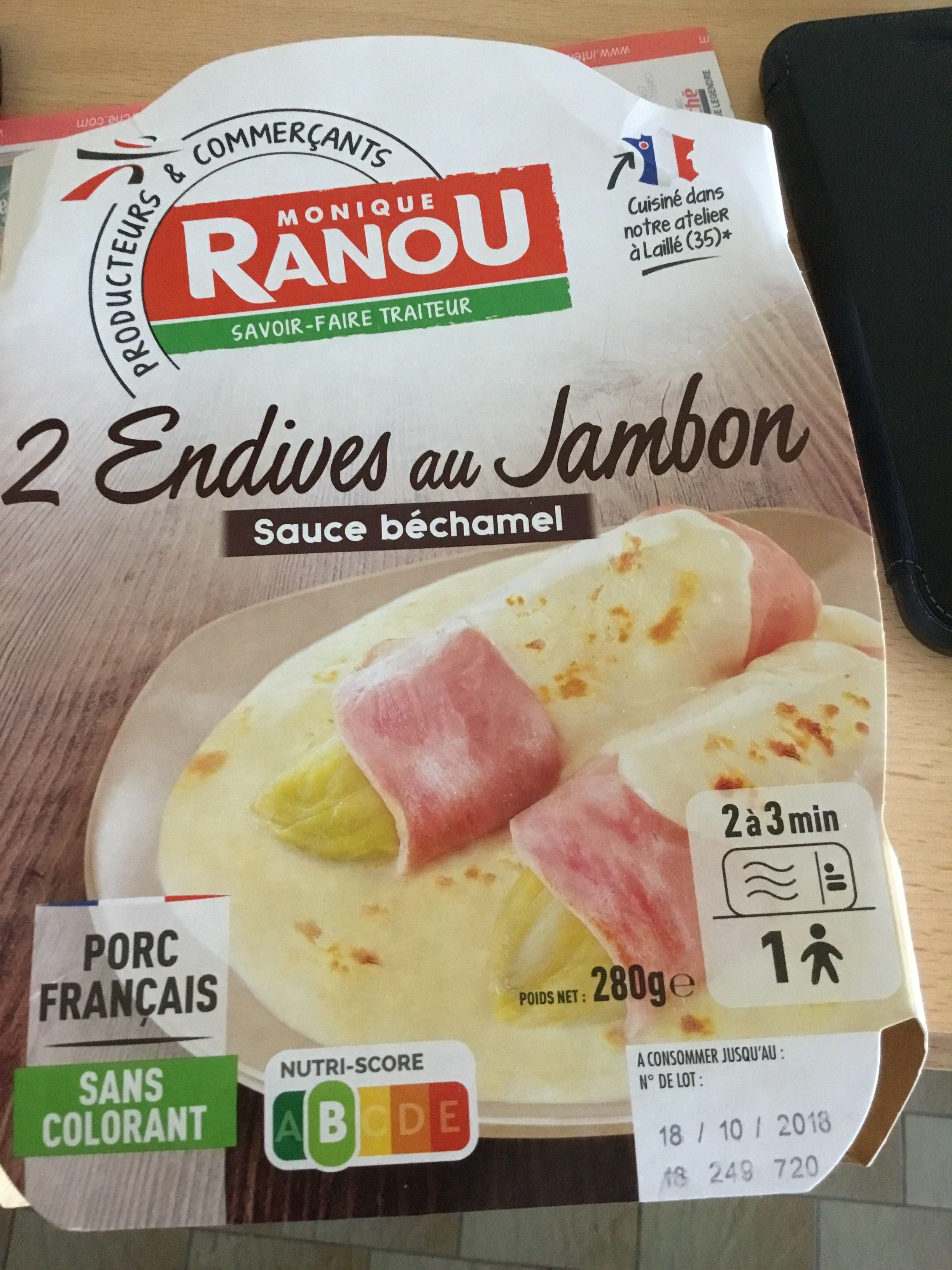 Endives au jambon - Product - fr