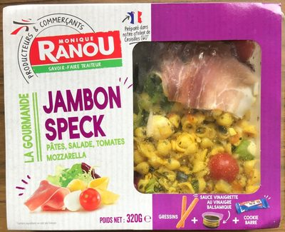 Monique Ranou salade jambon speck - Product
