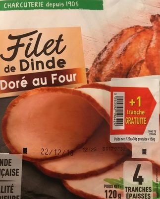 Filet de dinde - Produit - fr