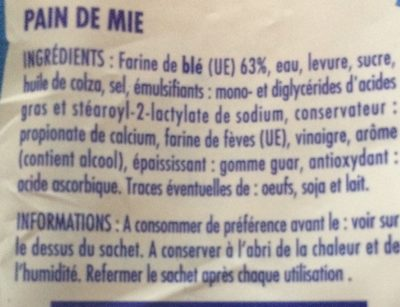 Grand Mie - Ingredients