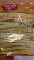 Pom'grenailles - Informations nutritionnelles - fr