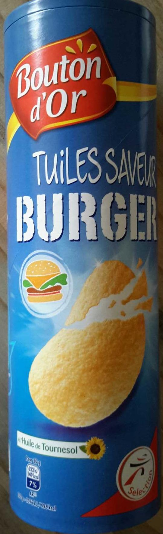 Tuiles saveur burger - Product - fr