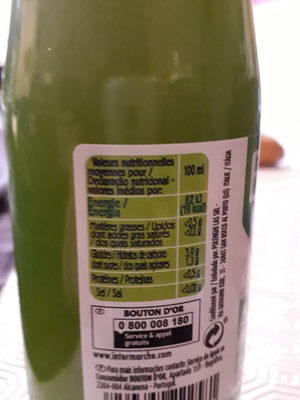 Jus De Citron - Ingredients