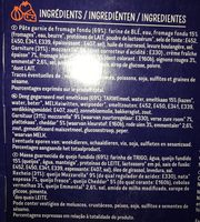 Tasty cheese - Ingredients