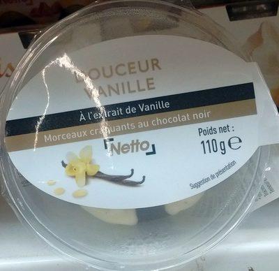 Douceur Vanille à l'extrait de Vanille & morceaux craquants au chocolat noir - Producto