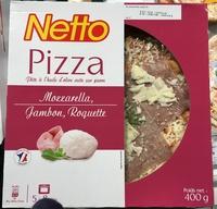 Pizza Mozzarella, Jambon, Roquette - Produit