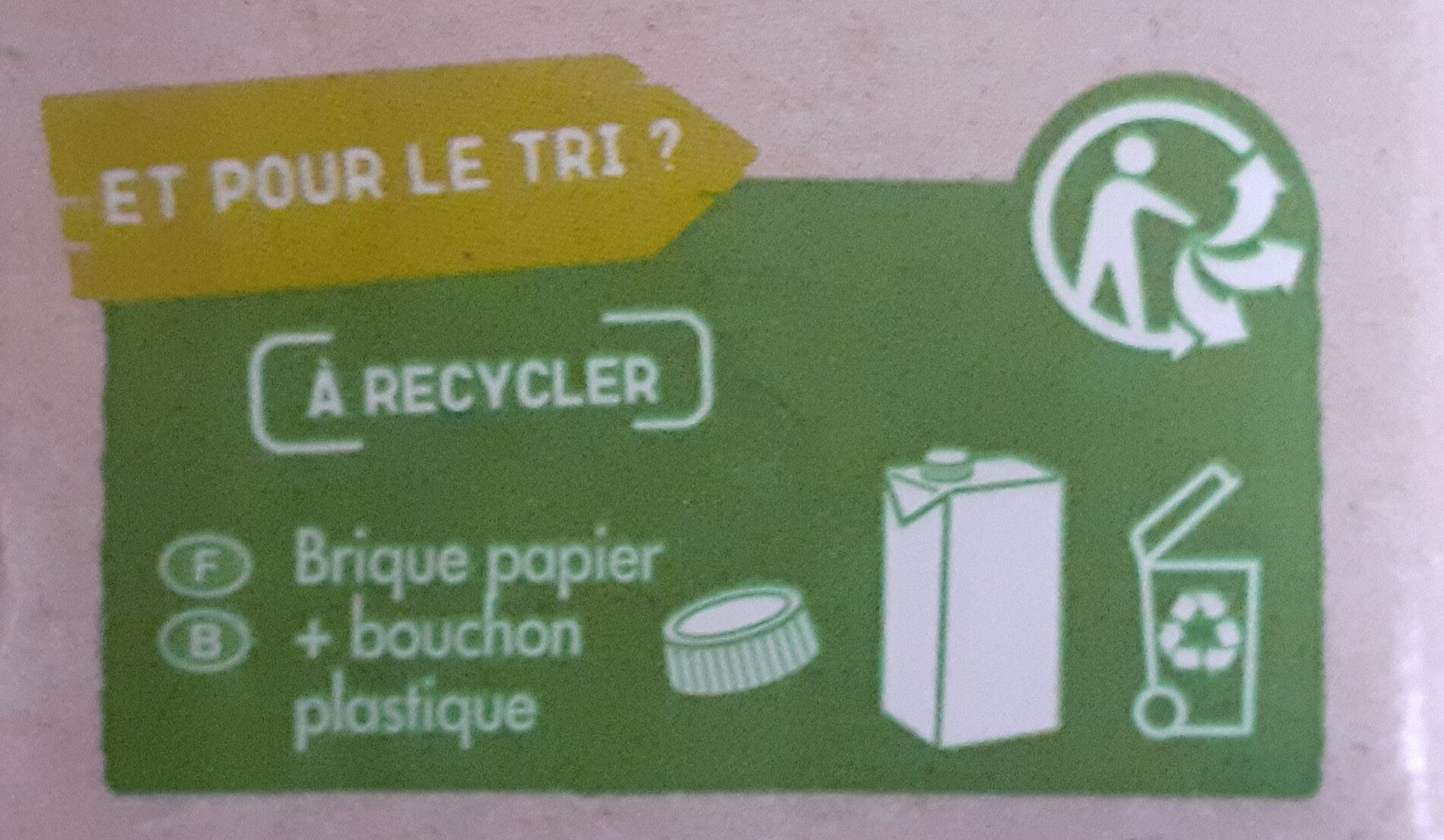Avoine - Instruction de recyclage et/ou information d'emballage - fr