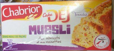 Cake Déj Muesli aux abricots et aux noisettes - Product - fr
