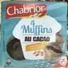 4 Muffins au Cacao Coeur fondant au Caramel - Produit