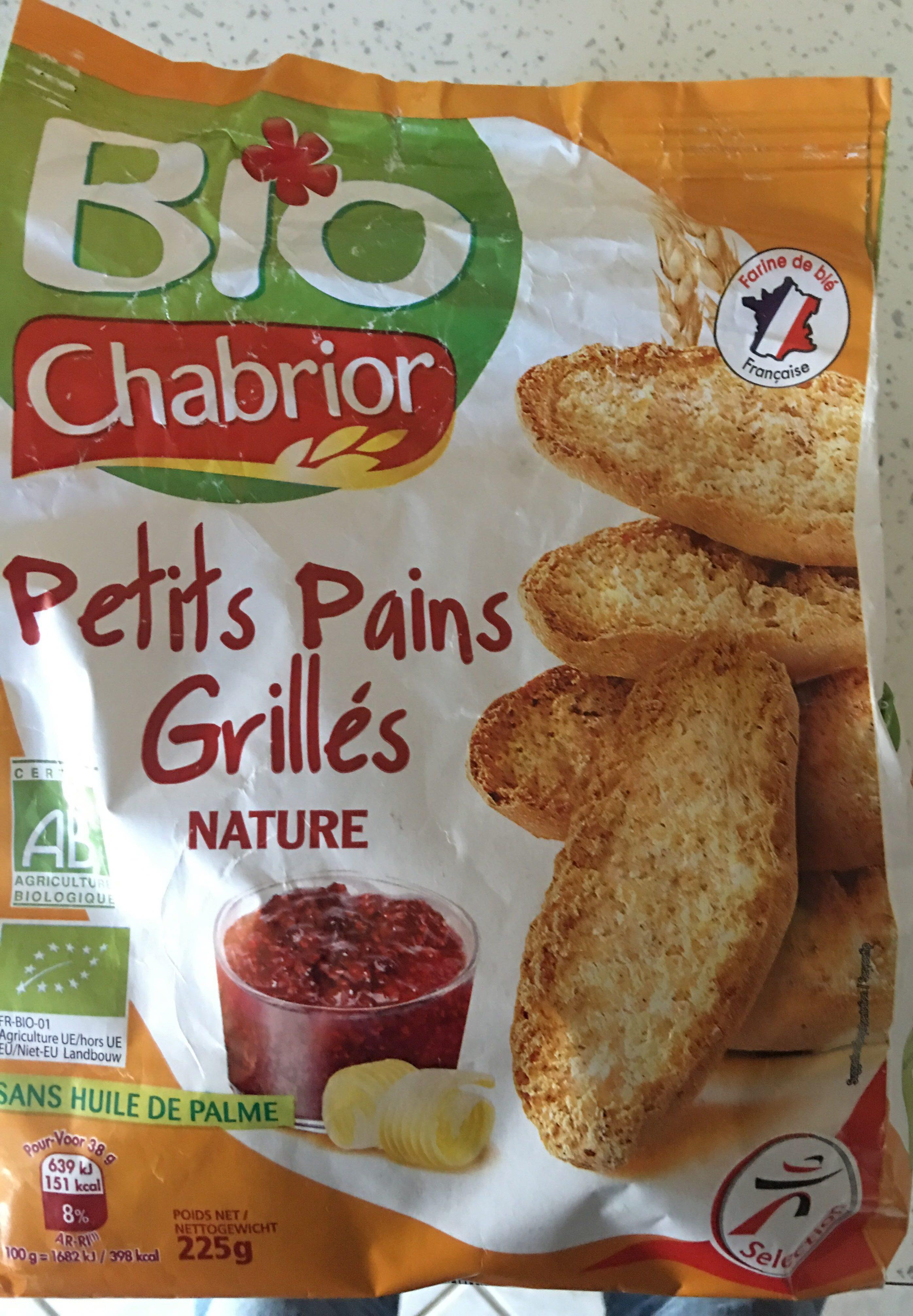 Petits pains grillés - Product - fr