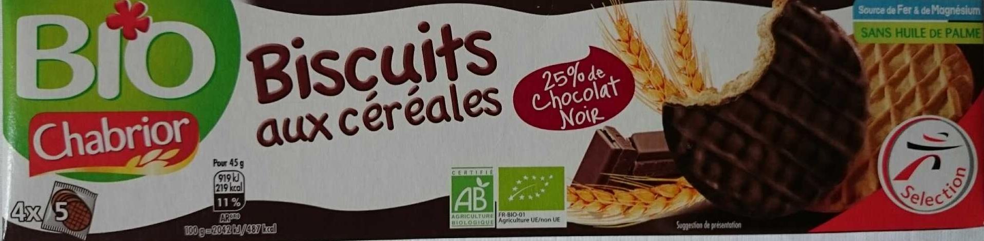Biscuits aux céréales (25 % de Chocolat Noir) - Product - fr