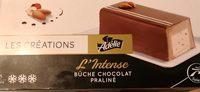 L'intense  Bûche chocolat praliné  8 parts - Product
