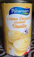 Crème dessert saveur vanille 510 g - Produit - fr