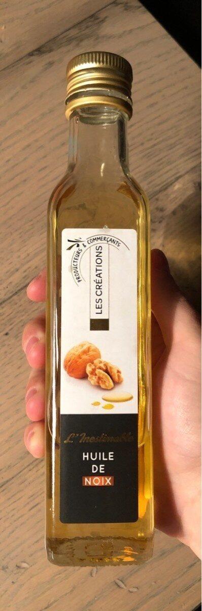 Les Créations L'Inestimable huile de noix la bouteille de 25 - Produit - fr