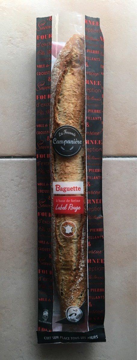 La Fournée Campanière - Label Rouge - Baguette à base de farine - Prodotto - fr