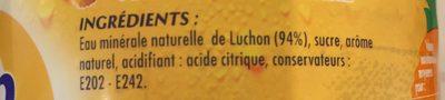 Chon Boisson à l'eau minérale naturelle saveur exotique la bouteille de 1,5 l - Ingrédients - fr