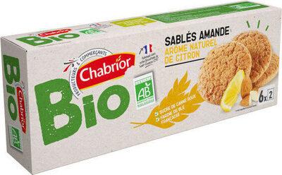 Sablés amande arôme naturel de citron bio - Produit - fr