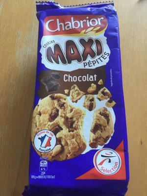 Cookies Maxi Pépites chocolat le paquet de 184 g - Product