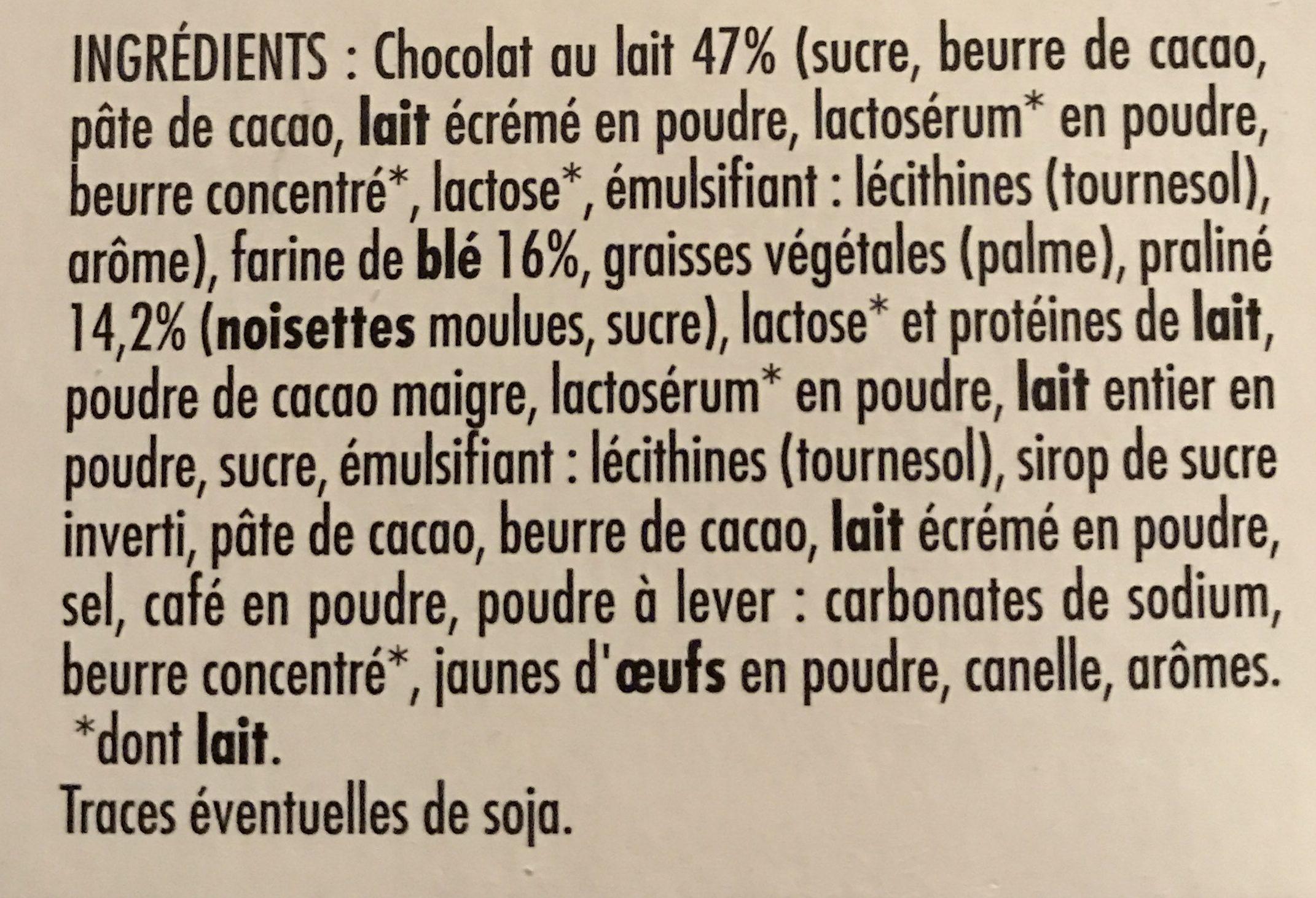 Crousti'Tab - Ingredients