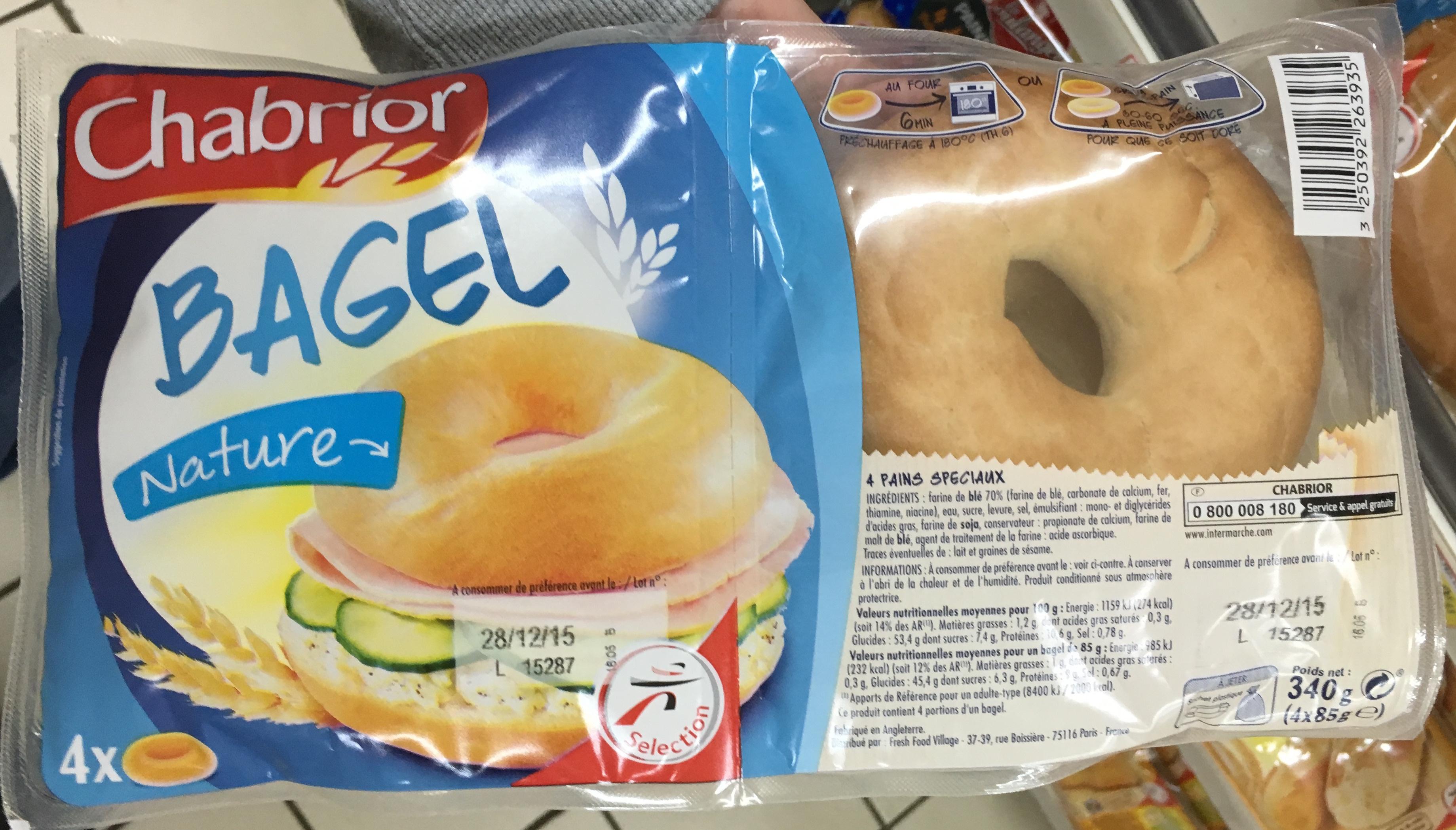 Bagel Nature - Produit