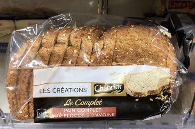 Pain Complet Aux Flocons D'avoine - Product
