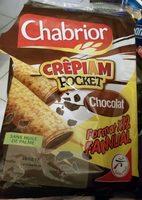 Crêpe Crêpiam Pocket chocolat les 12 crêpes de 30 g - Produit