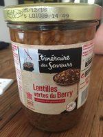 Lentilles vertes du Berry cuisinées à la graisse d'oie - Product - fr
