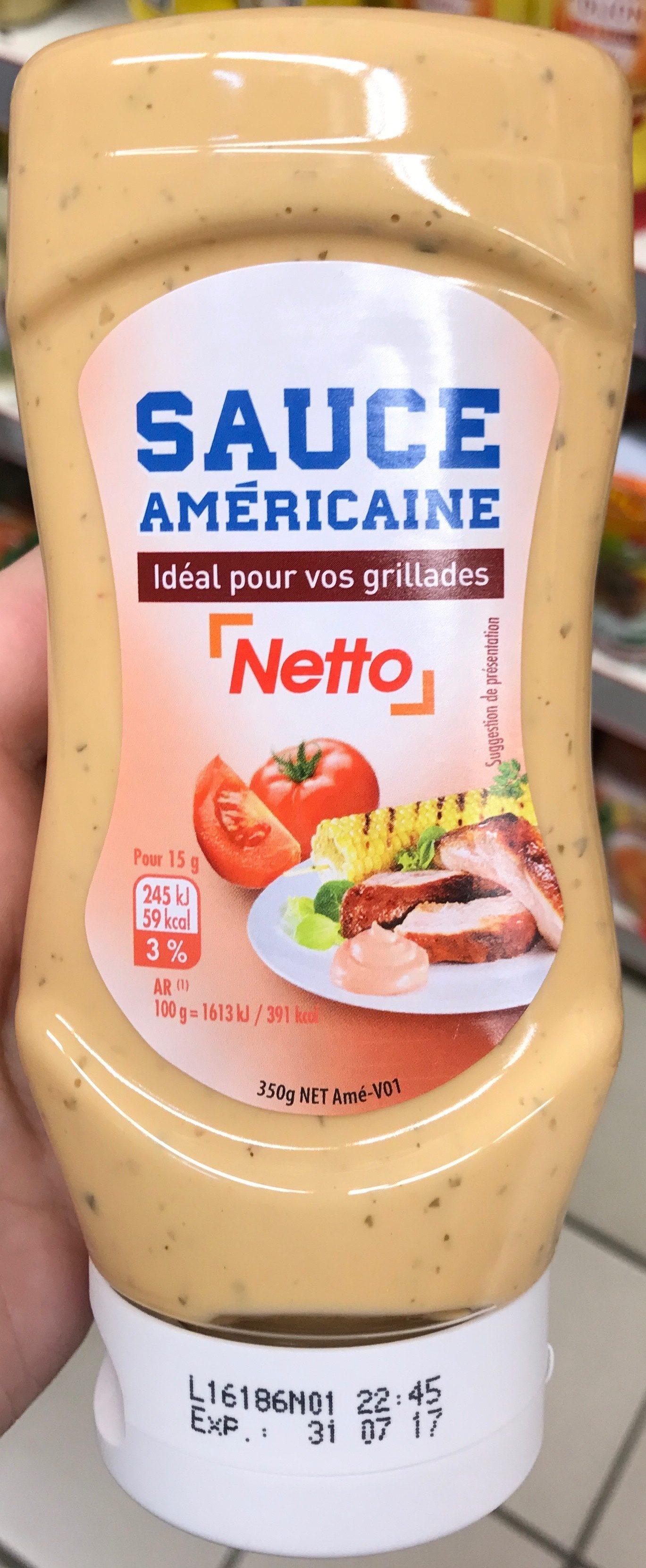 Dressing À L Américaine sauce américaine - netto - 350 g