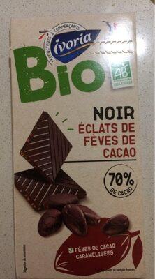 Chocolat noir aux éclats de fèves - Product - fr