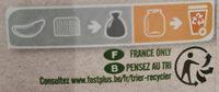 Café soluble lyophilisé AMÉRIQUE LATINE - Instruction de recyclage et/ou informations d'emballage - fr