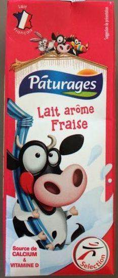 Lait Arôme Fraise - Produit - fr