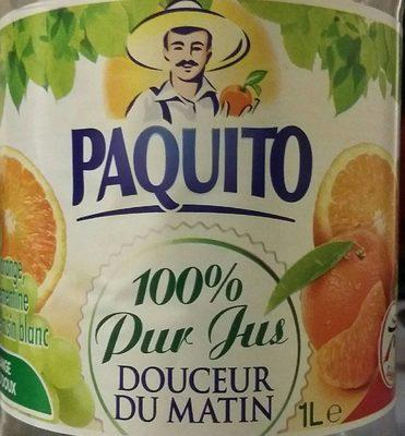 100% Pur jus Douceur du matin - Product - fr