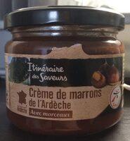 Crème de marrons de l'ardèche - Product - fr