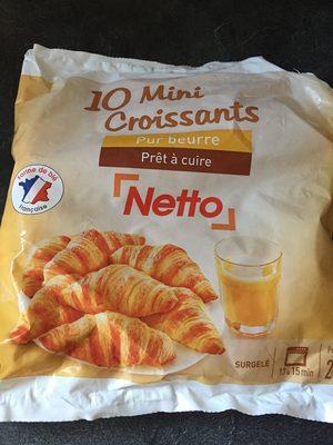10 Mini croissants - Product - fr