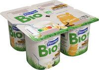 Yaourt vanille au lait entier bio - Prodotto - fr