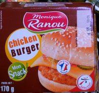 Chicken Burger Mon Snack - Produit