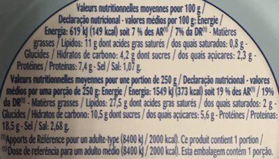 Odyssée Salade au thon parisienne 250 g - Ingrédients - fr