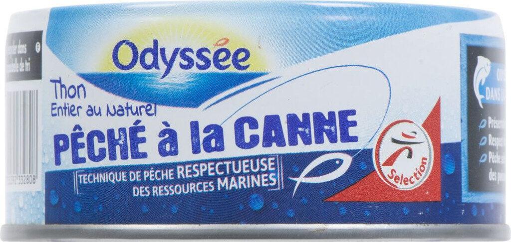 Thon entier au naturel pêché à la canne - Prodotto - fr