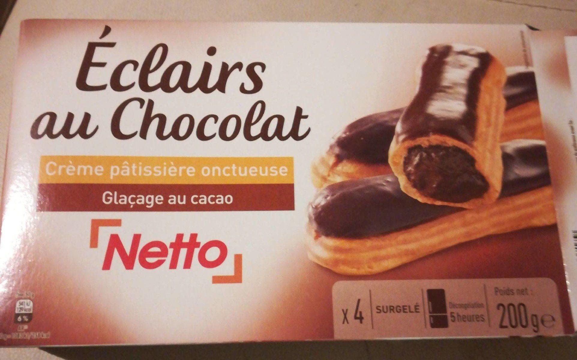 Éclairs au chocolat - Product