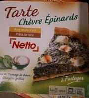 Tarte Chèvre Épinards - Produit