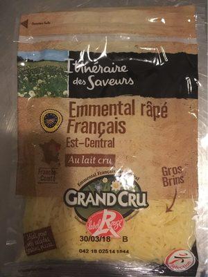 Emmental râpé français Est-Central - Product