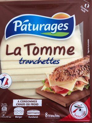 La Tomme tranchettes - Produit - fr