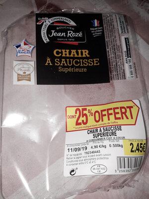 Chair à saucisse Jean Rozé - Produit